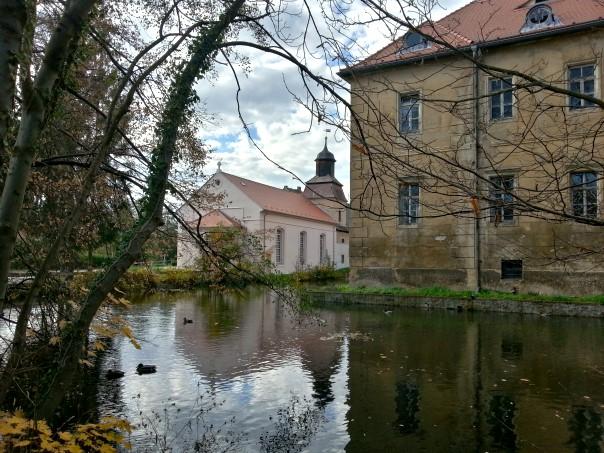 Wasserschloss in Berbisdorf wieder erreicht