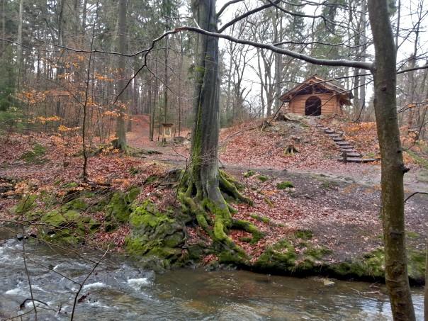 Schutzhütte an der Prießnitz