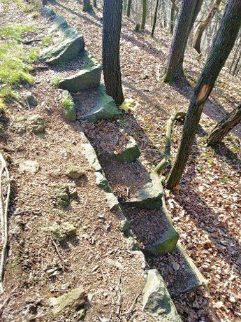 Treppen am Weststeig