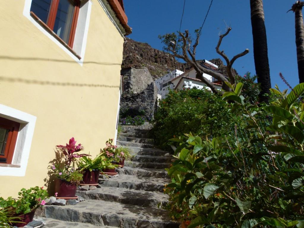 Treppenweg in El Guro