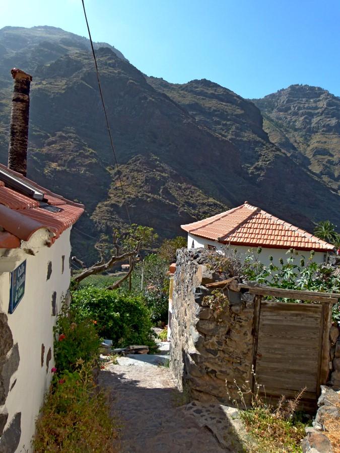 Blick zurück ins Valle Gran Rey