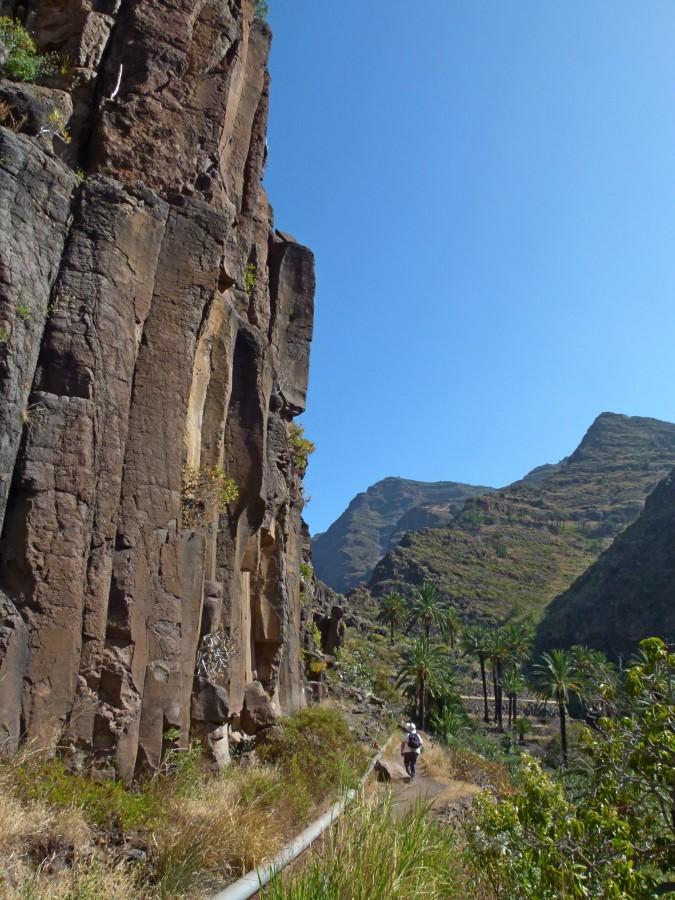 An der Basaltwand