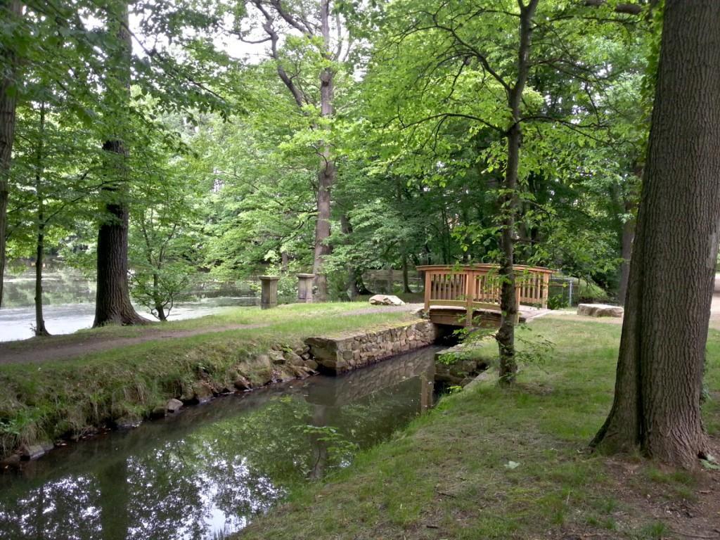 Brücke am Schlossteich