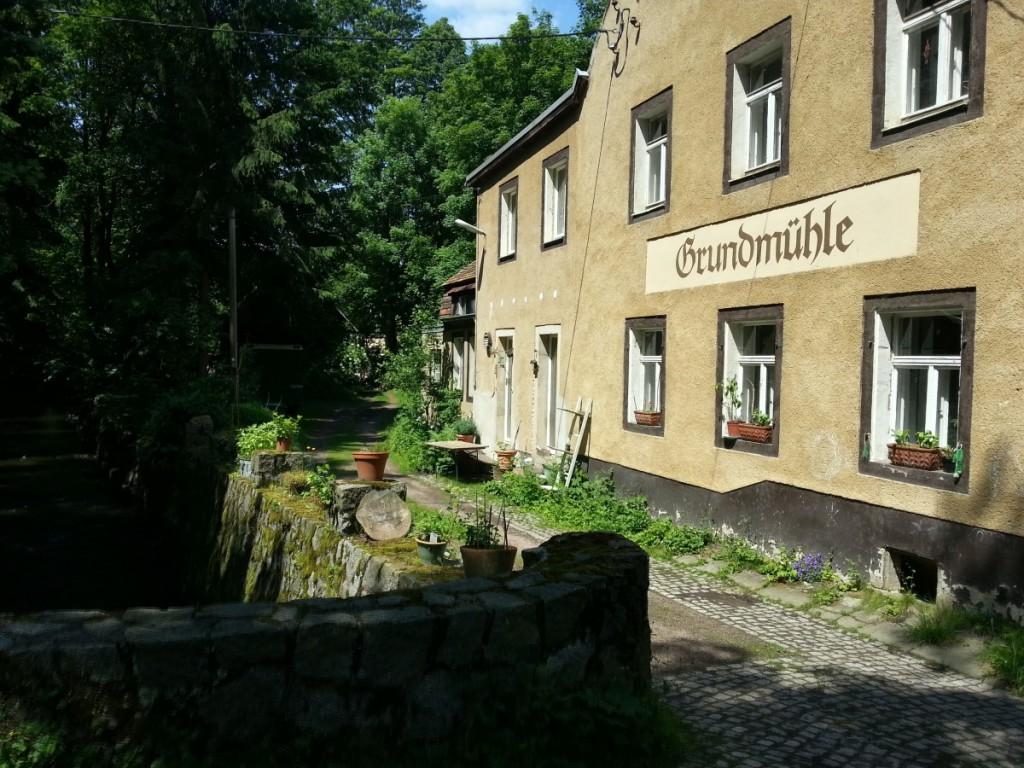 Die Grundmühle - leider keine Gaststätte mehr