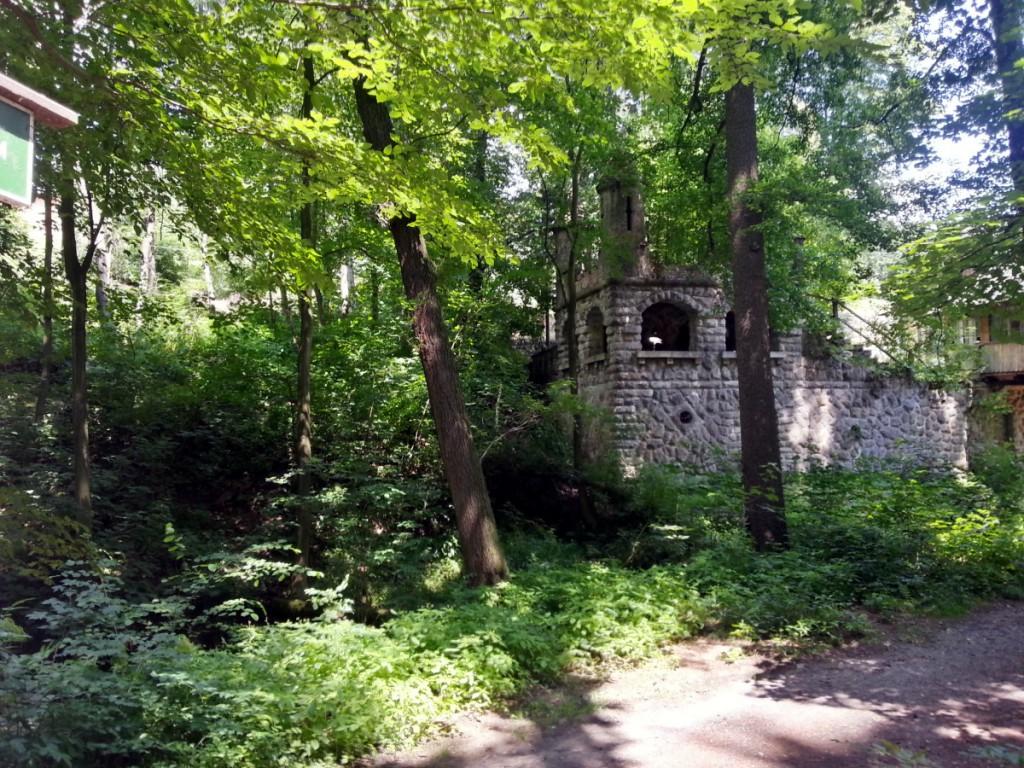 Gebäudereste an der Meixmühle