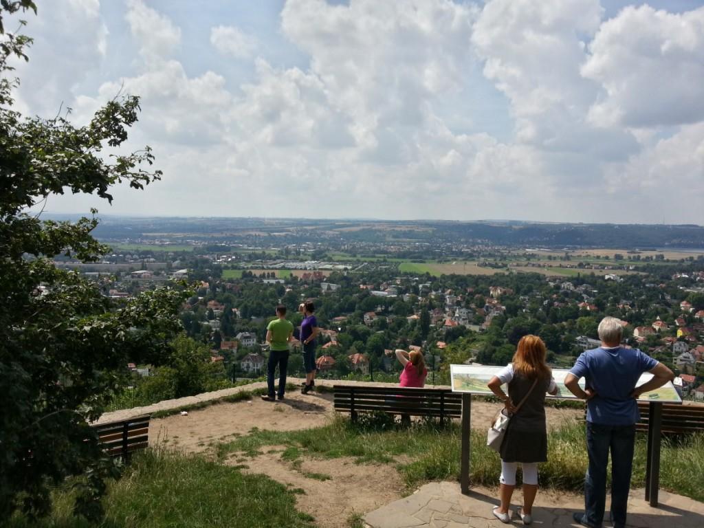 Ausblicke am Bismarckturm