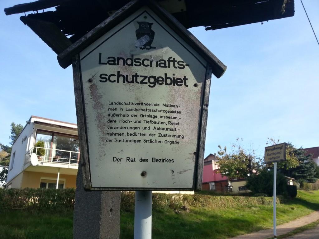 In Boxdorf - hier scheint die Zeit etwas stehen geblieben zu sein...