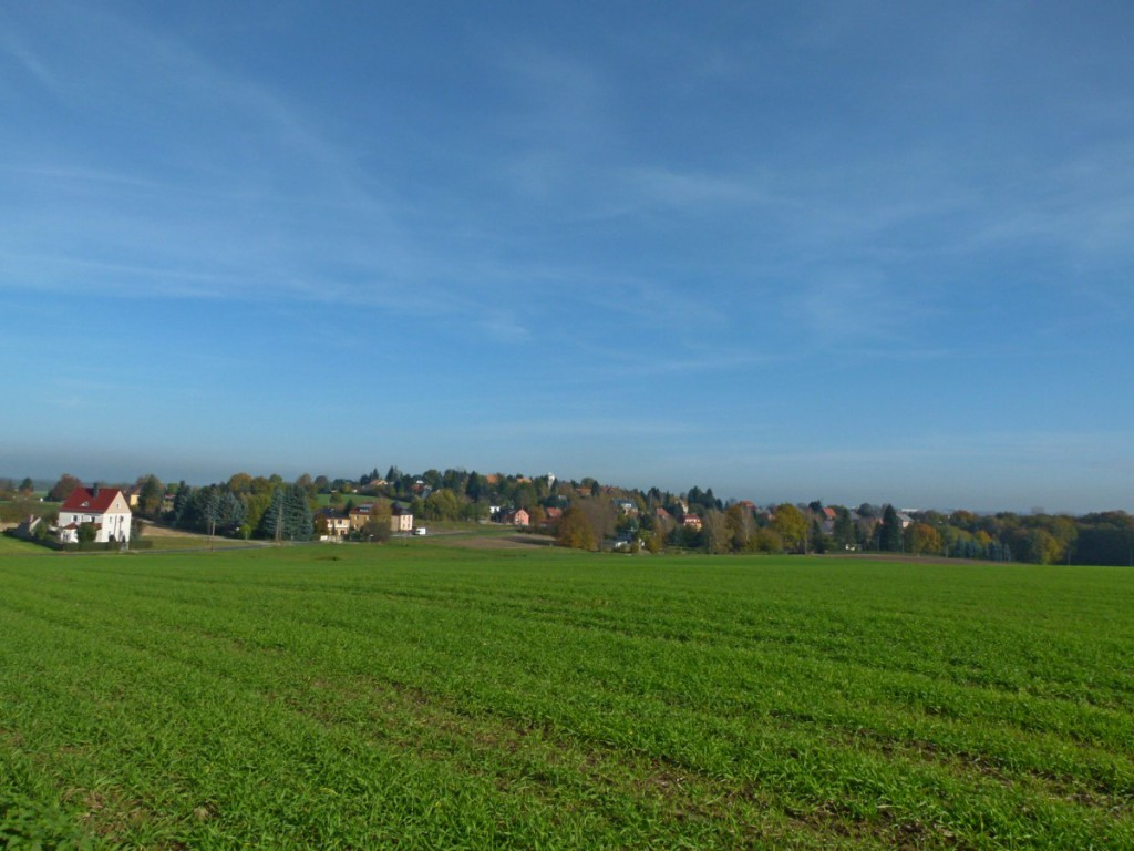 Blick nach Boxdorf