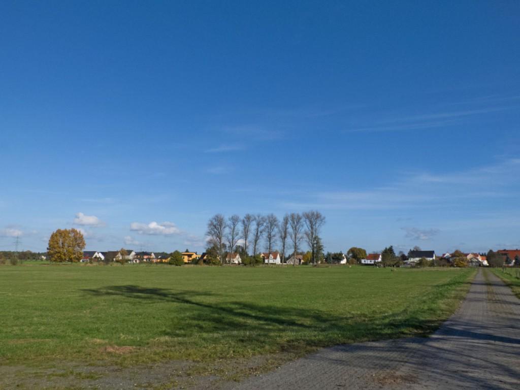 Landschaft bei Raden