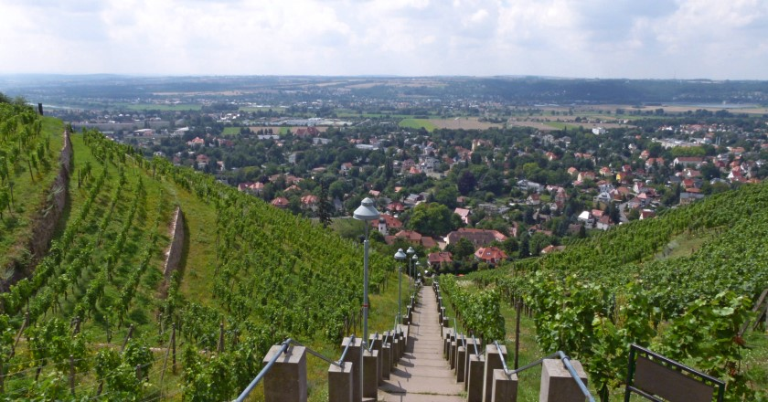 Spitzhaustreppe Radebeul