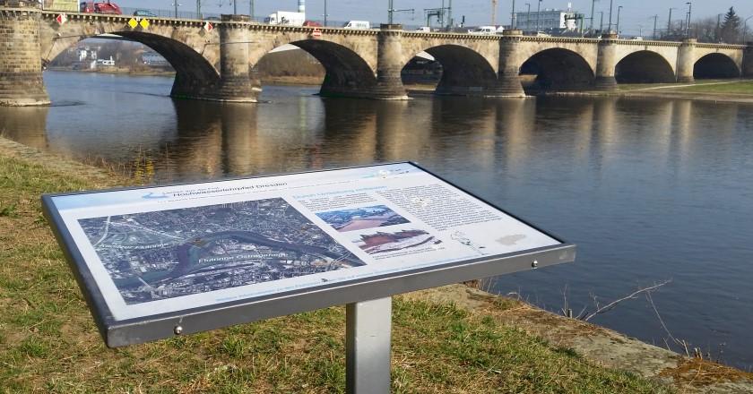 Hochwasserlehrpfad Dresden