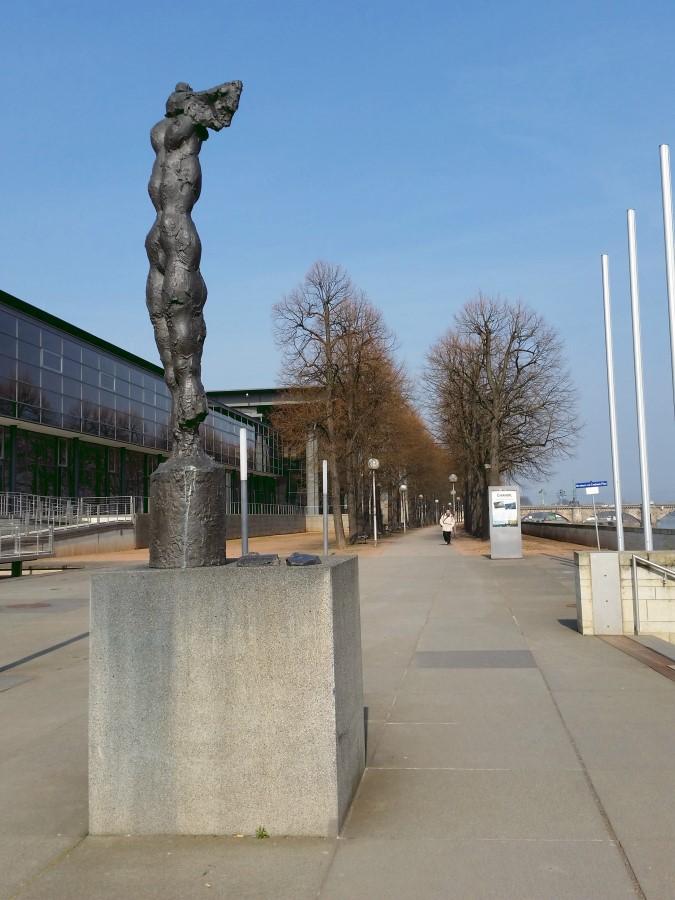 Skulptur Nike am Landtag