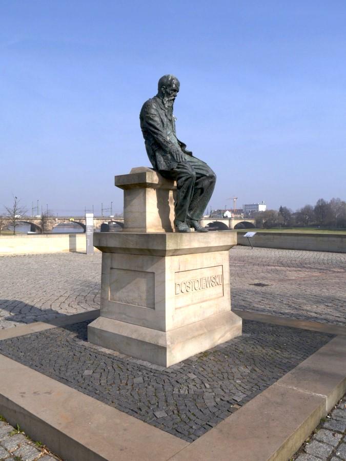 Am Dostojewski Denkmal
