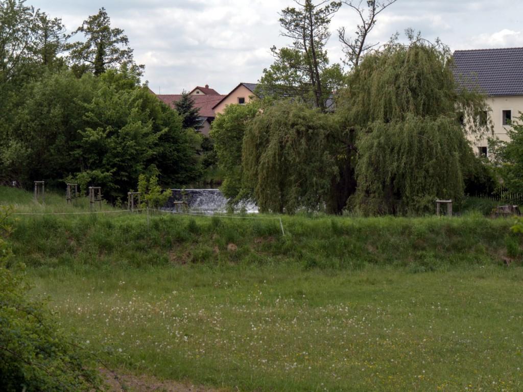 Blick zur Alten Mühle in Großdittmannsdorf