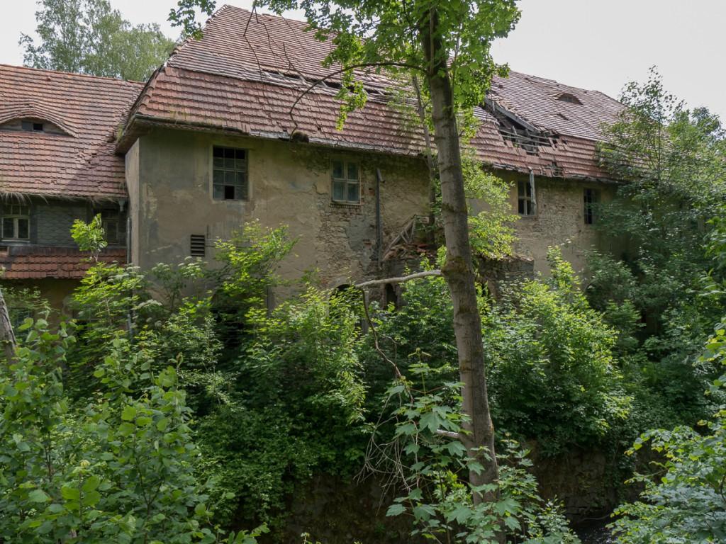 Gebäude der Niedermühle