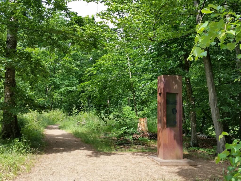Der Nordeingang zum Landschaftsgarten