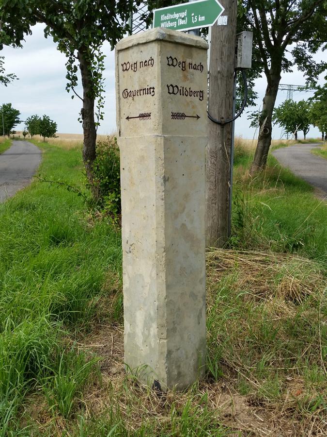 Historische Wegsäule