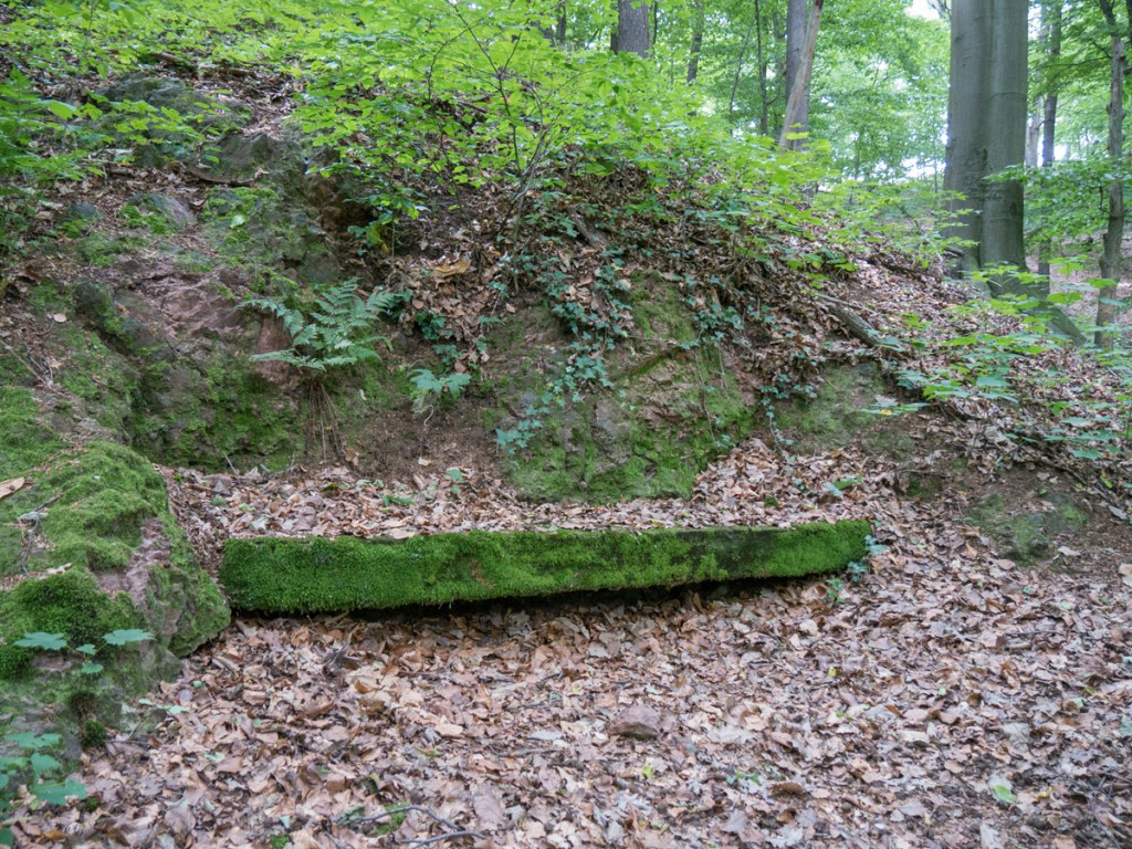 Steinbank, Rest des ehemaligen Landschaftsparks