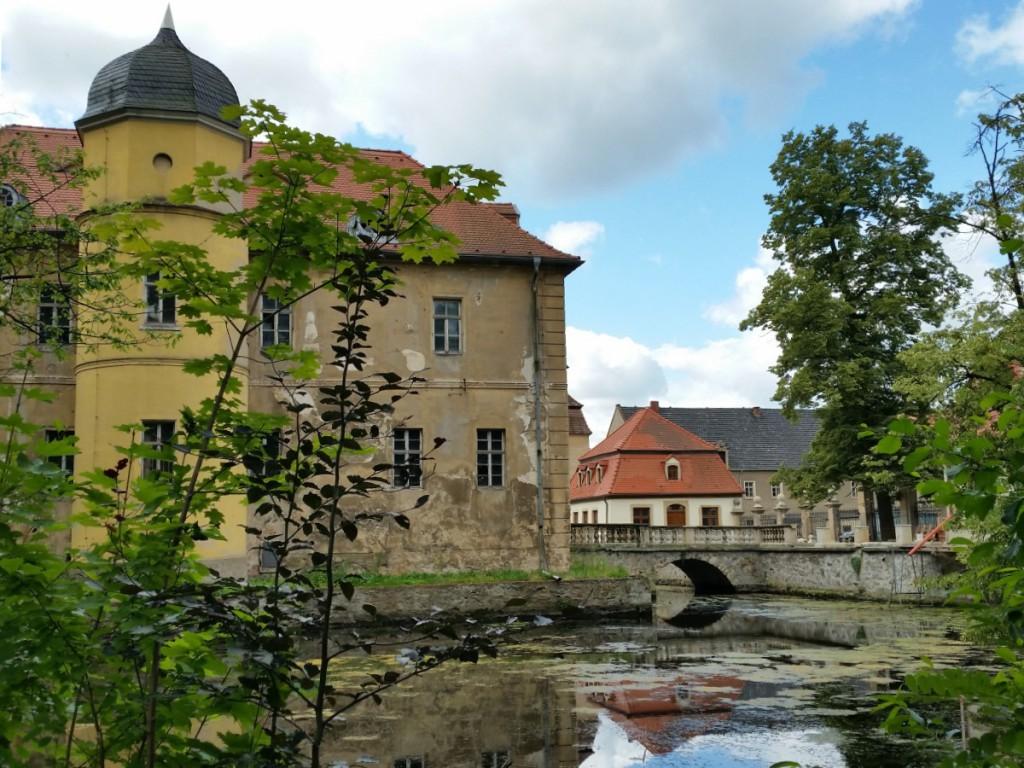 Ansicht des Wasserschlosses Berbisdorf