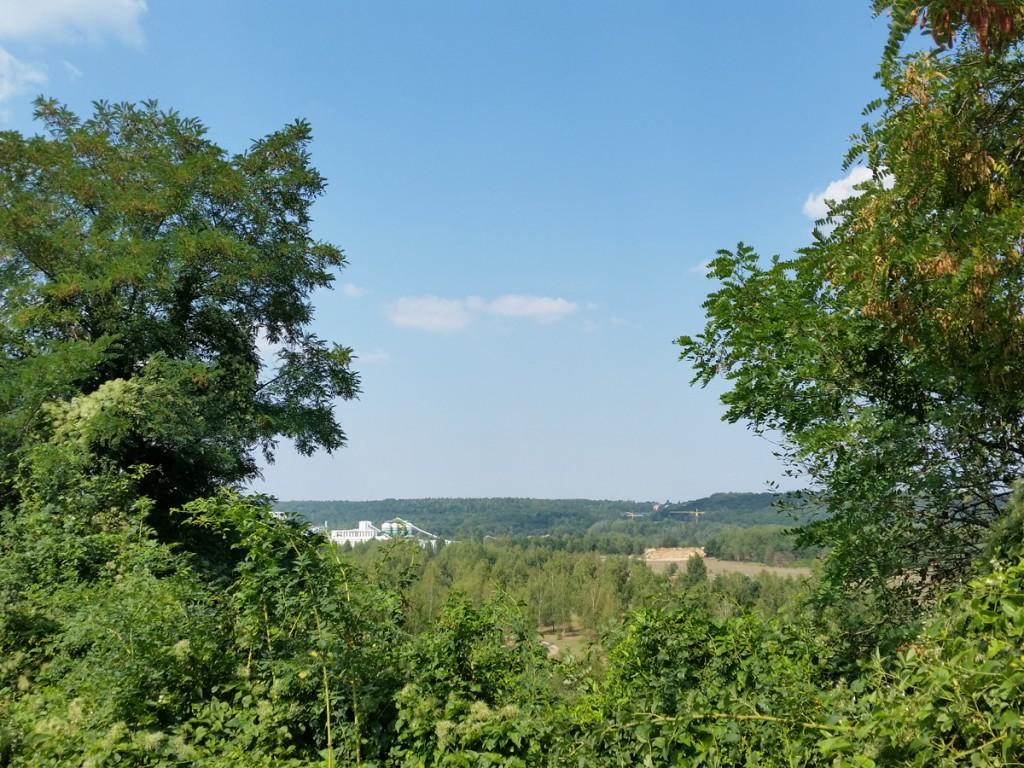 Blick Richtung Deponie Hellerberge