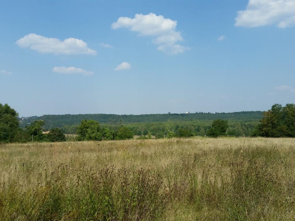 Blick Richtung Norden über die Hellerberge