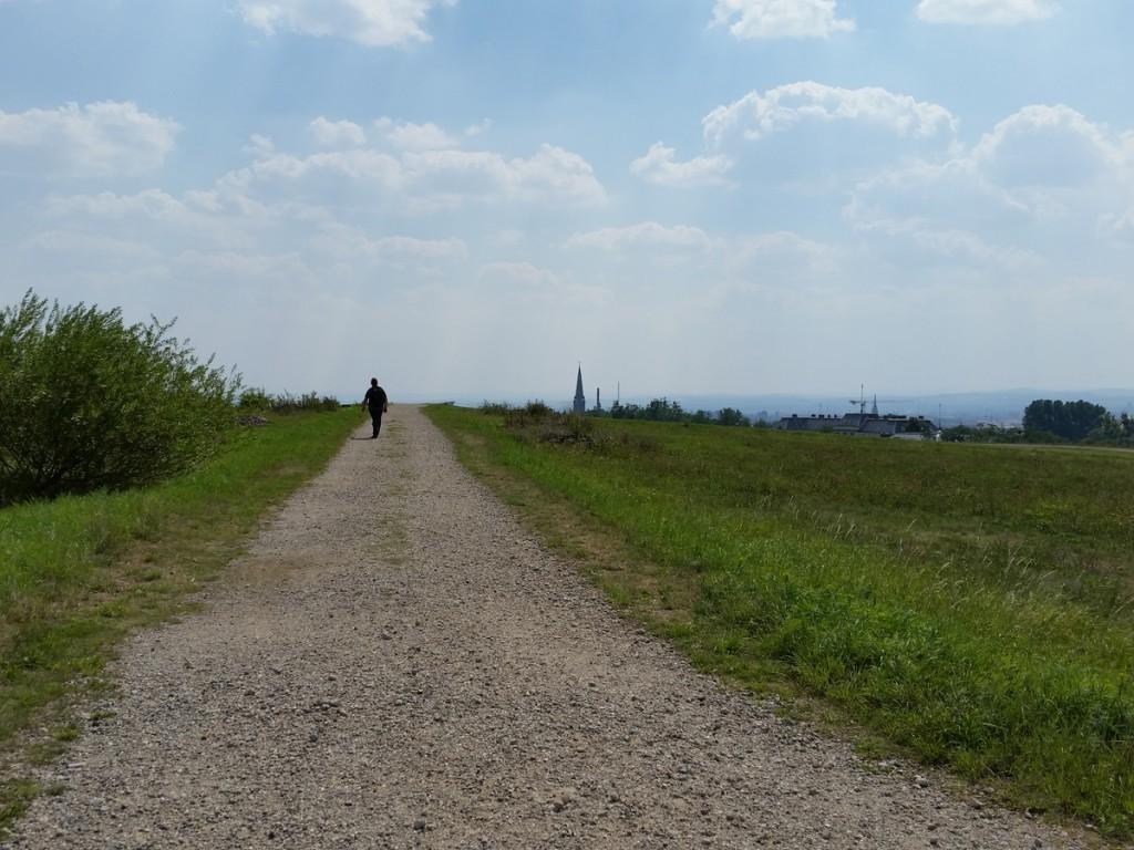 Plateau der Halde 2 auf dem Heller gleich erreicht...