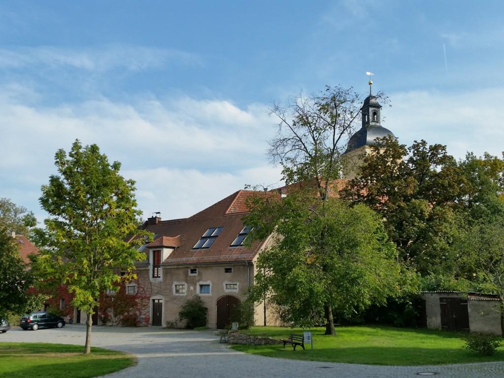 Auf dem Schlossvorplatz