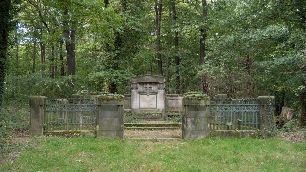 Grabstätte der Familie Crusius