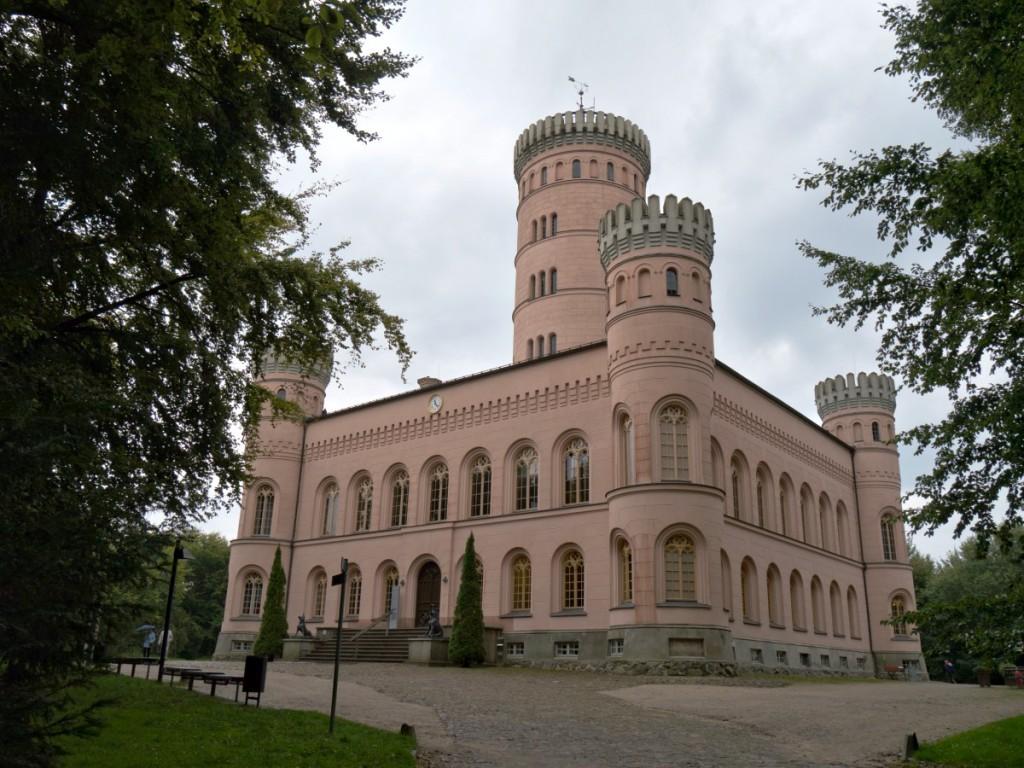 Am Jagdschloss Granitz