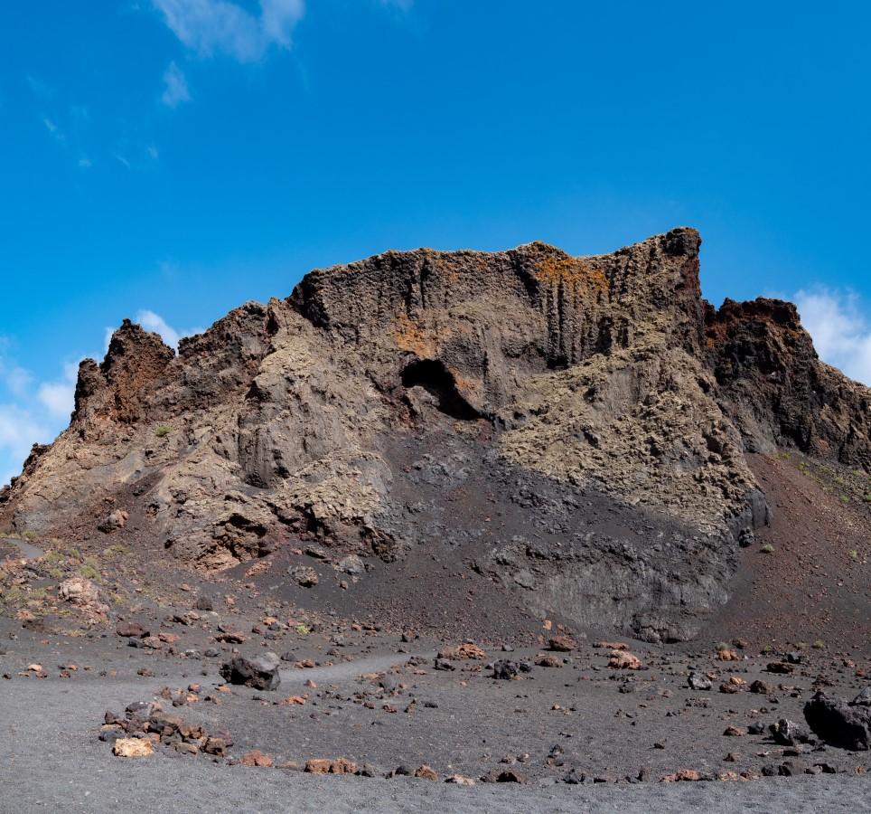 Im Kratergrund der Caldera de los Cuervos