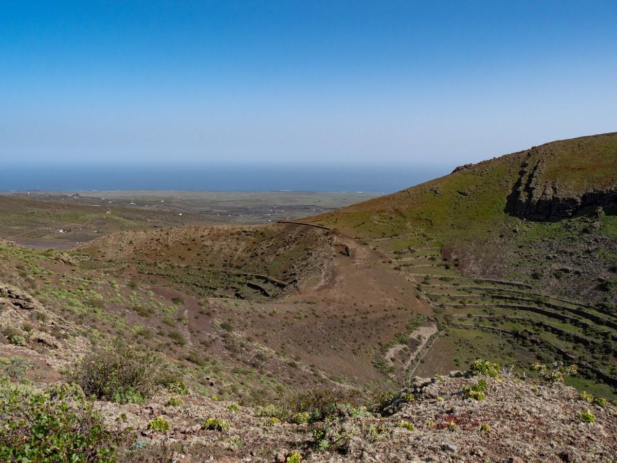 Spuren der einstigen landwirtschaftlichen Nutzung des Los Helechos