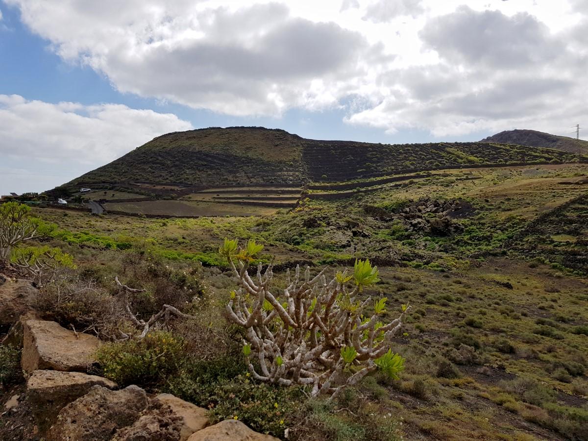 Ein weiterer Blick zur Quemada de Órzola