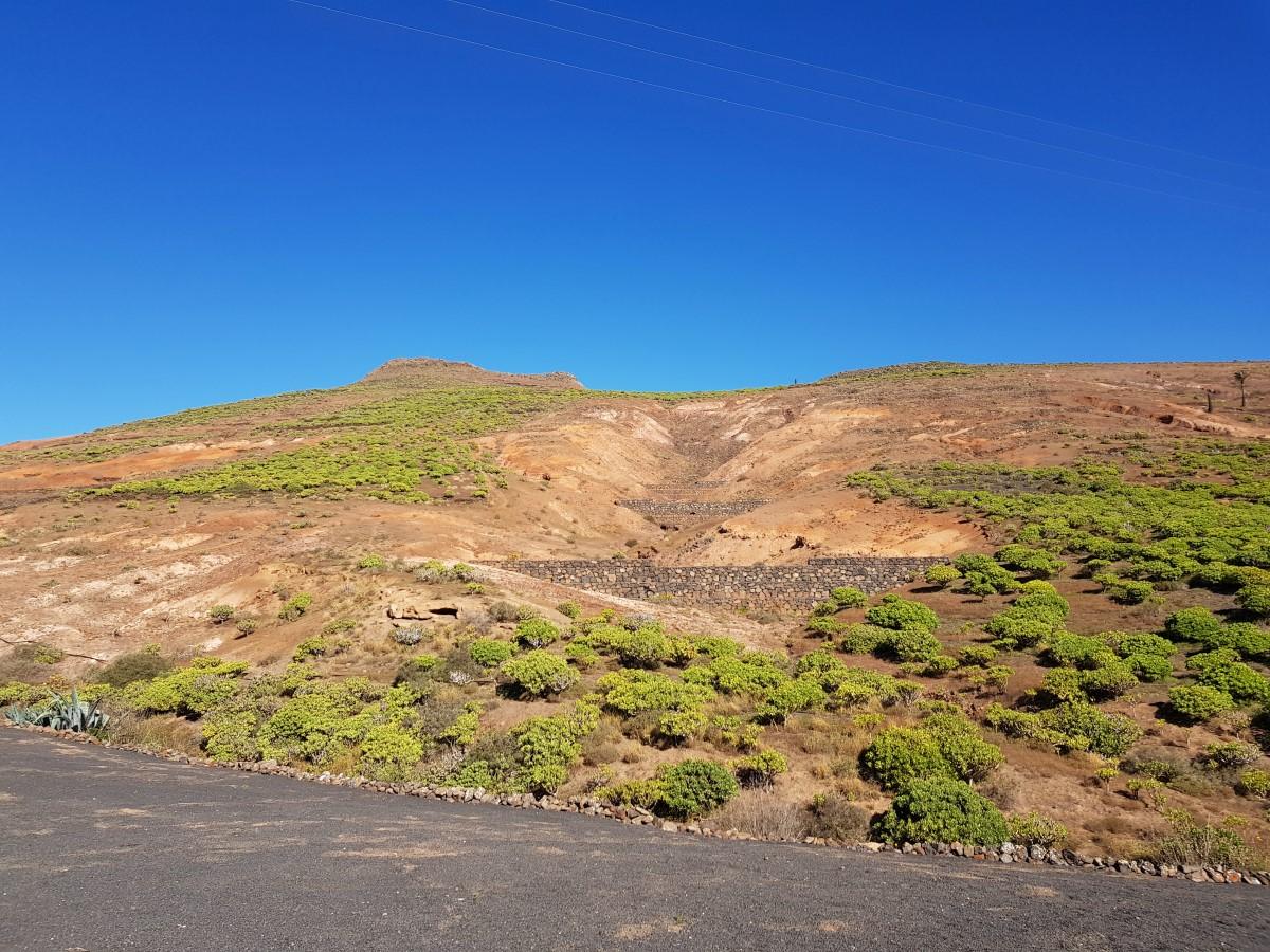 Staustufen unterhalb des Matos Verdes