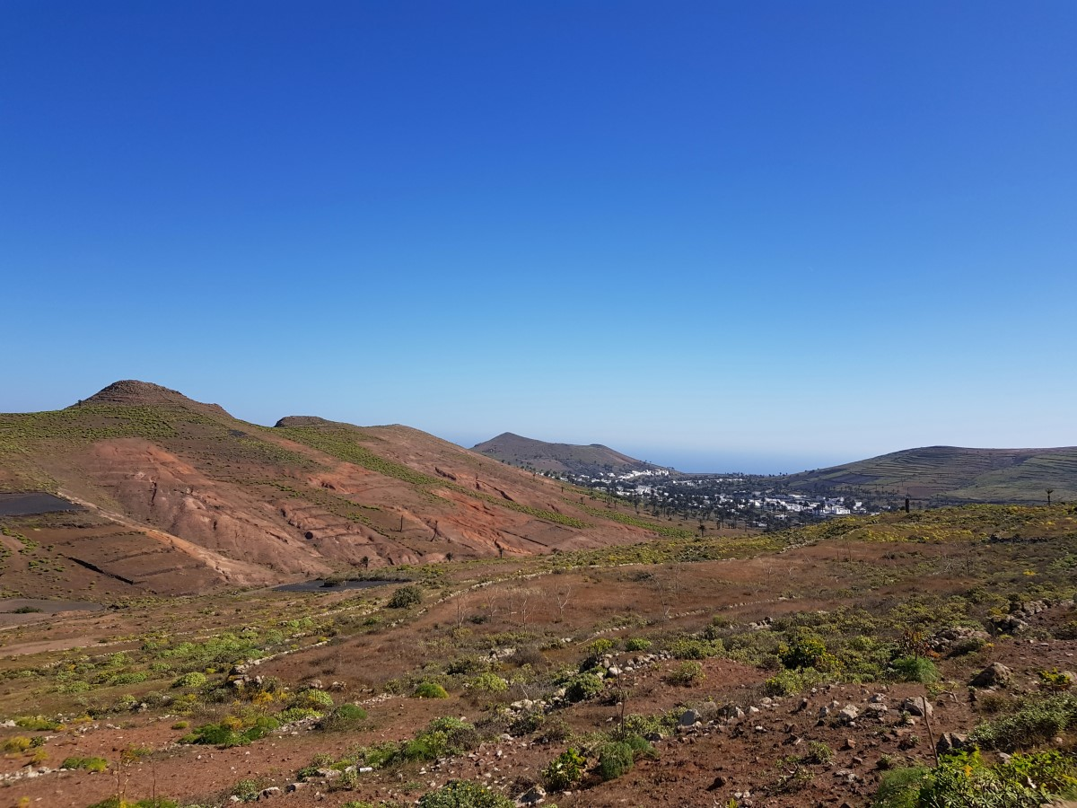 Blick zurück über das Valle del Rincón