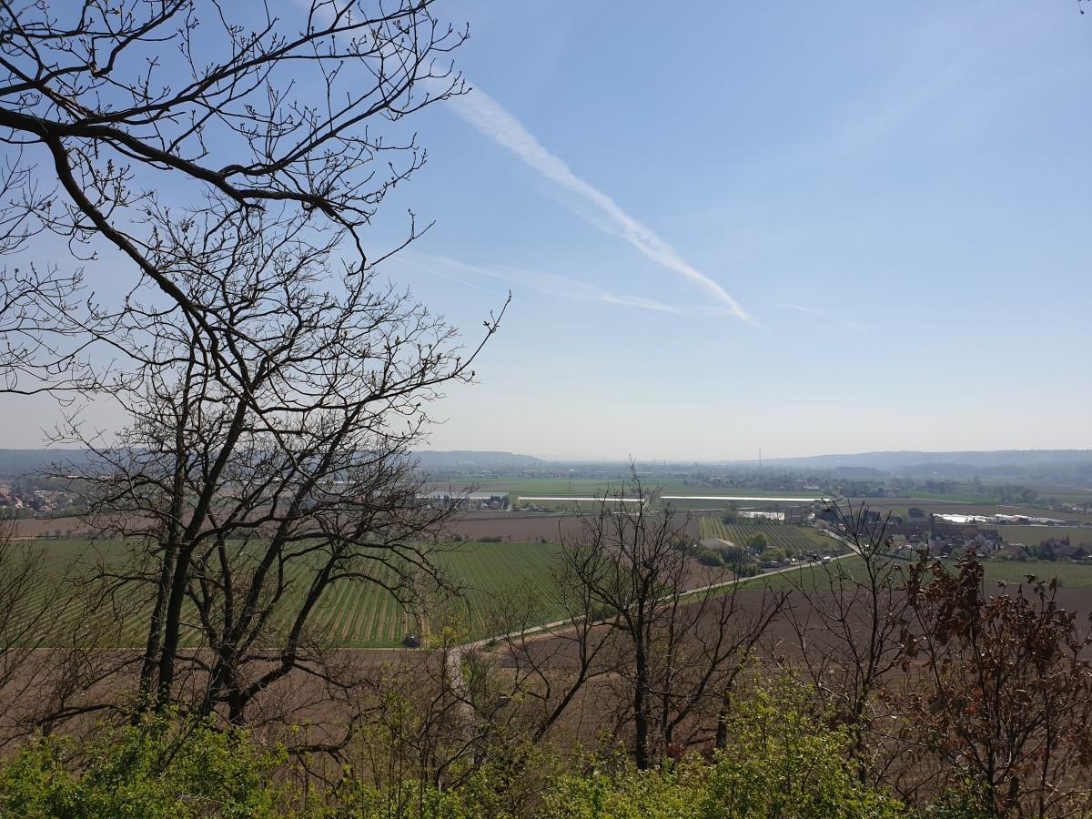 Ausblick von der Römischen Bosel Richtung Coswig