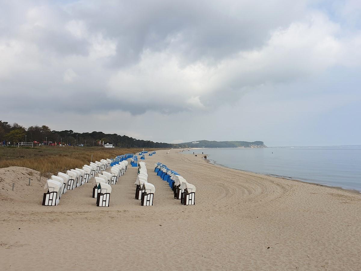 Am Strand in Göhren