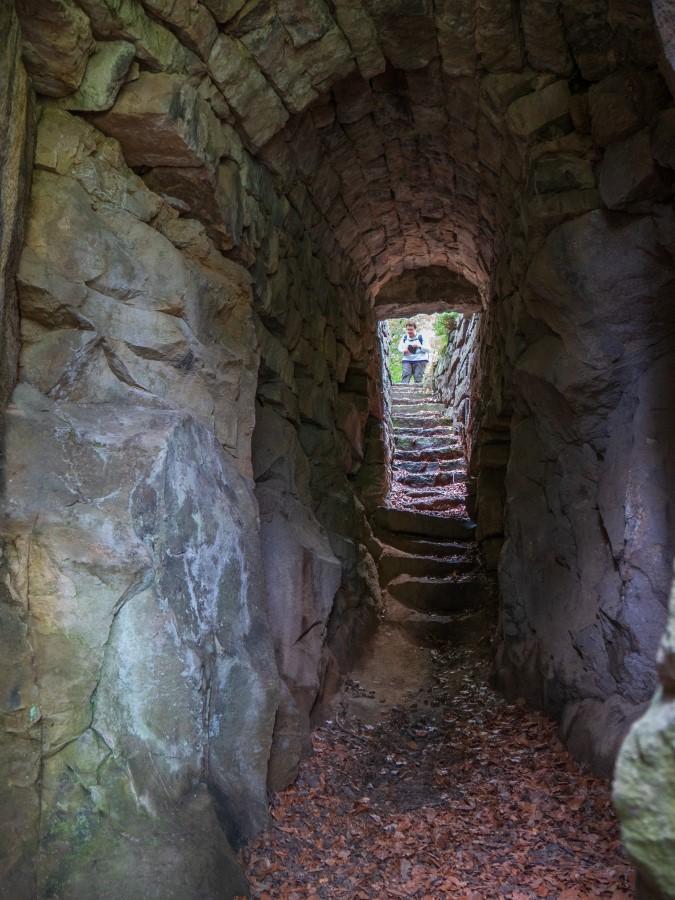 Fotoversuche in der Zwergenhöhle