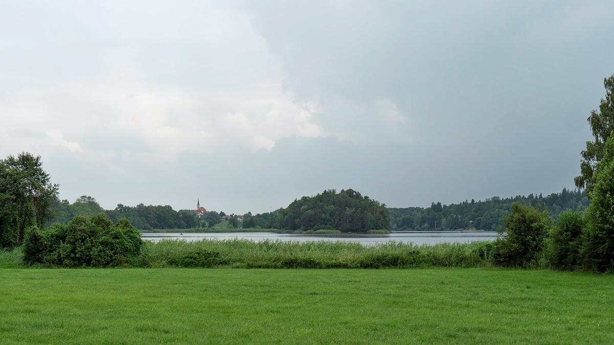 Blick zum Abtsdorfer See von Süden