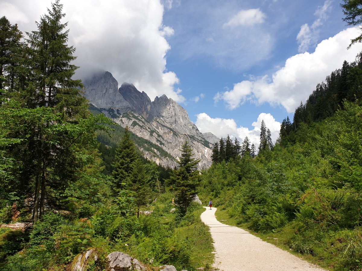 Weg im Klausbachtal