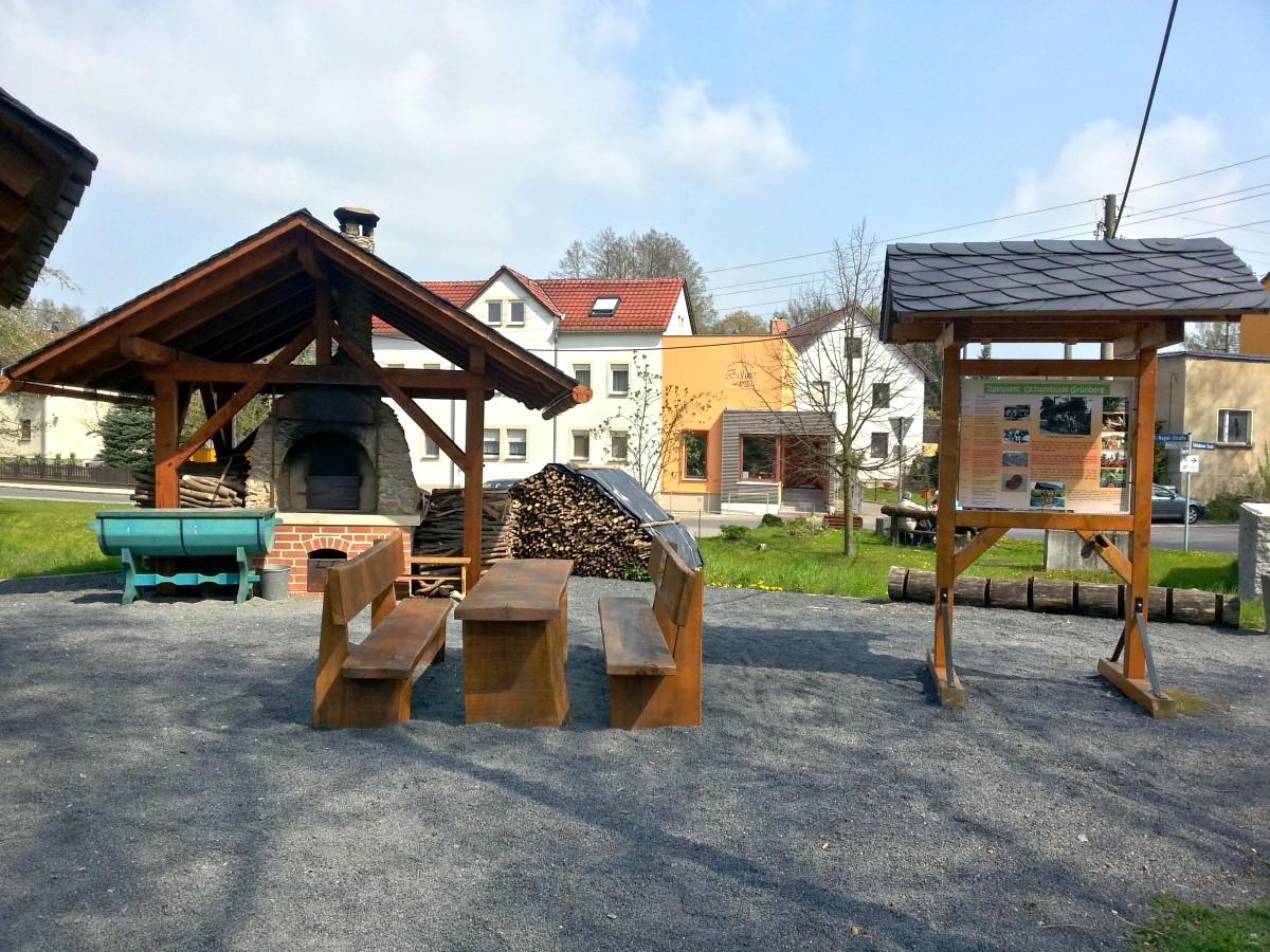 Rastplatz Ochsenbude in Grünberg