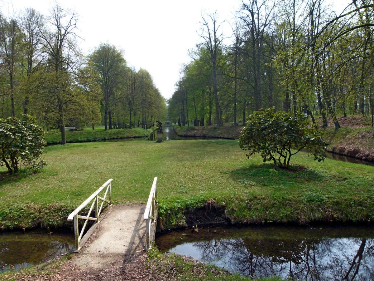 Insel im Schlosspark