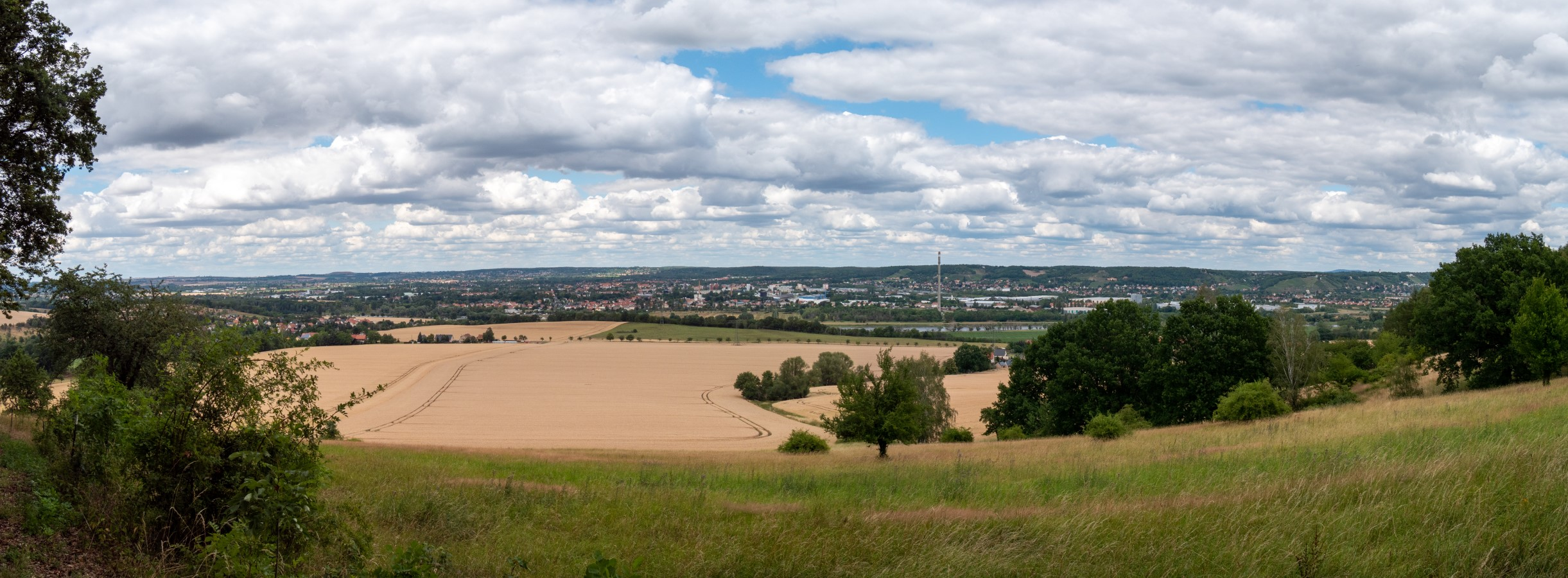 Eine Panoramaansicht