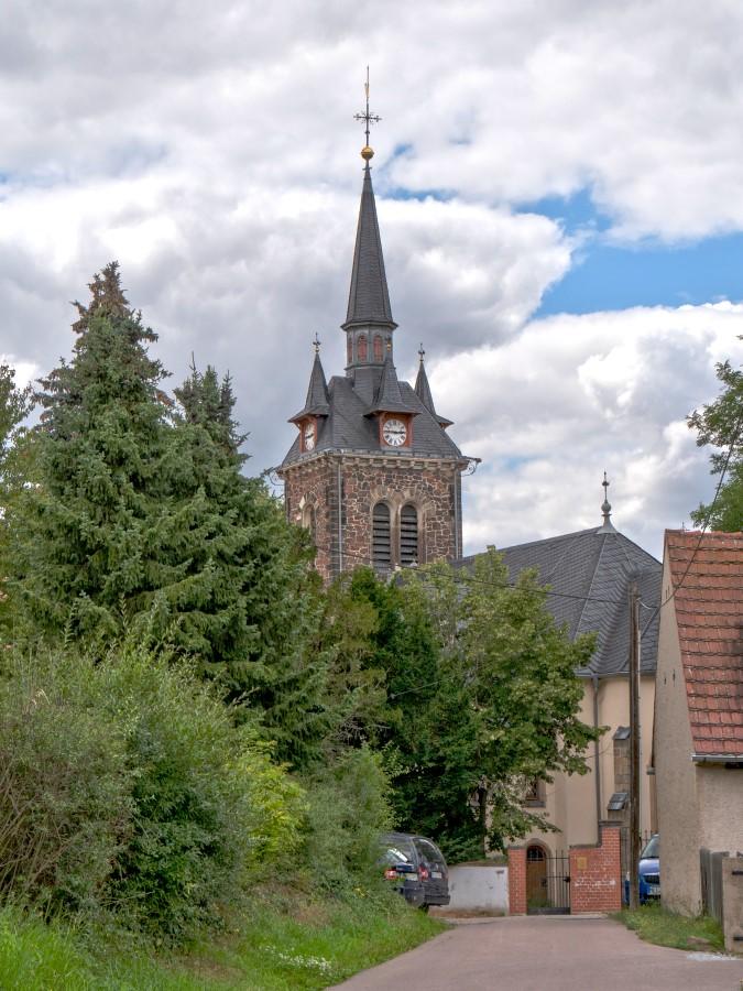 An der Kirche in Constappel