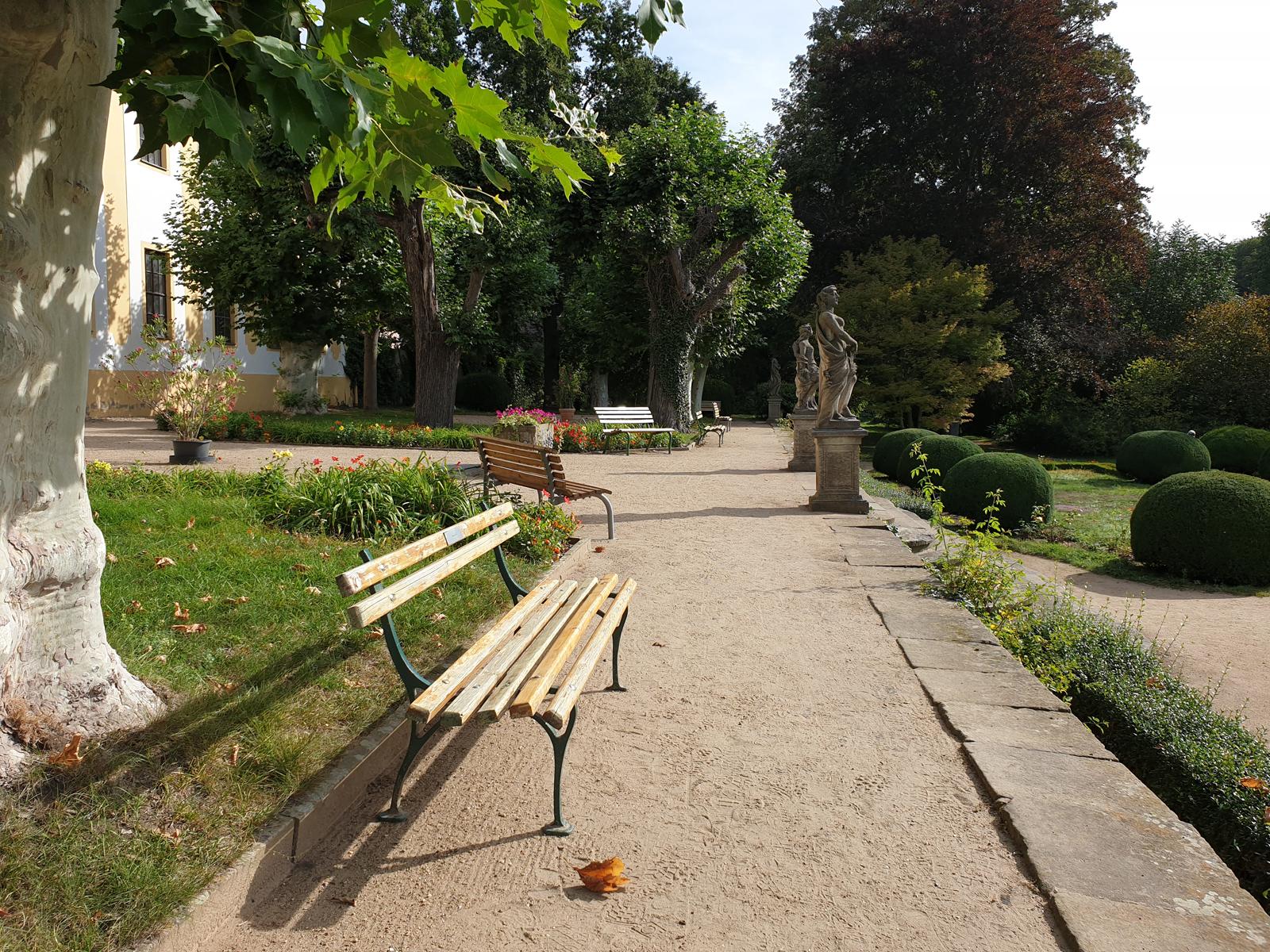 Im Schlosspark Seußlitz