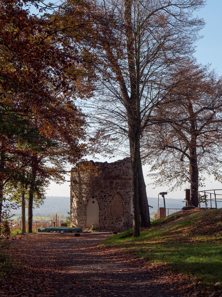 Turmruine auf dem Gellertberg