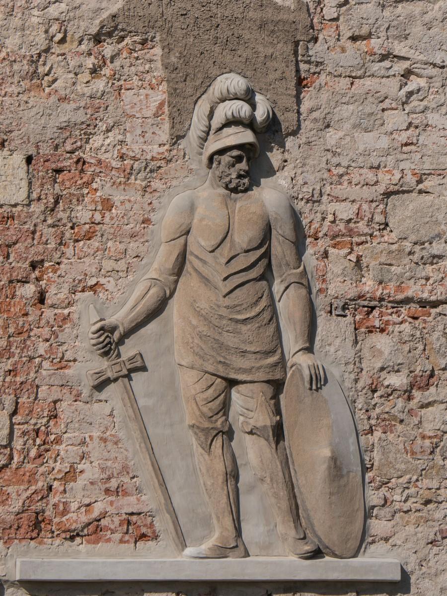 Relief am Wasserschloss