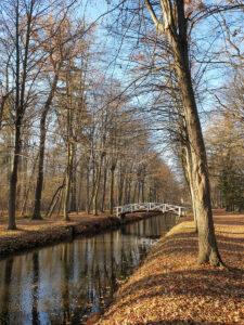 Brücke über dem Schlossgraben