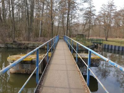 Brücke am Großen Gabelwehr