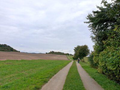 Rückweg nach Moritzdorf