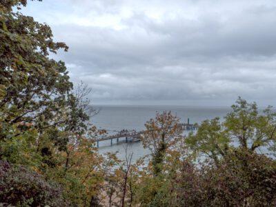 Hochuferweg - Blick zur Seebrücke